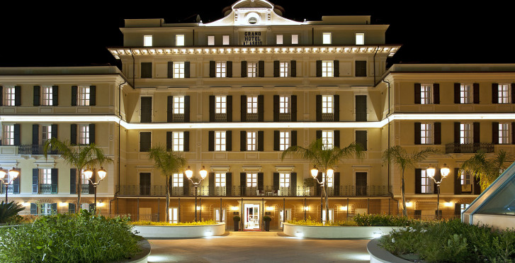 Grand Hotel Alassio Ligurien Migros Ferien