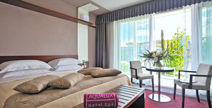 Doppelzimmer Comfort / Aqua - AQUALUX Hotel Spa Suite & Terme