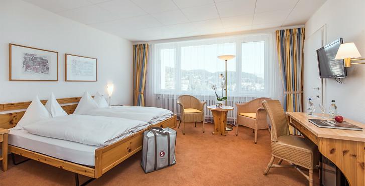 Chambre double - Sunstar Hotel Arosa (avec abo-ski (hiver)/remontées mécaniques (été))