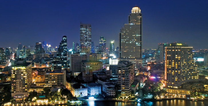 Skyline Bangkok - Furama Silom Bangkok