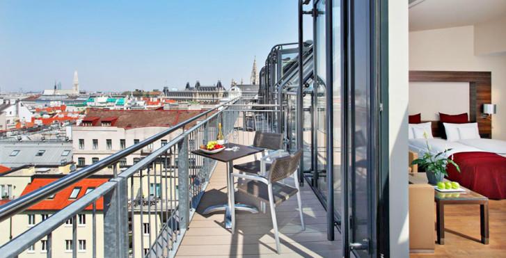 Junior Suite - Fleming's Selection Hotel Wien-City