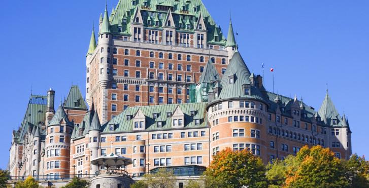 Hotel Schloss Frontenac, Quebec Stadt