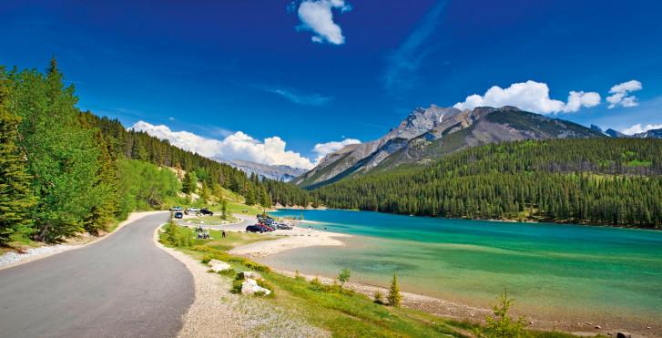 Landschaft bei Banff