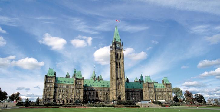 Parlamentsgebäude, Ottawa