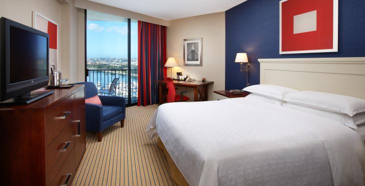 Doppelzimmer - Sheraton San Diego Hotel & Marina