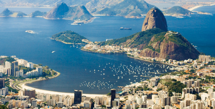 Rio vue d'en haut