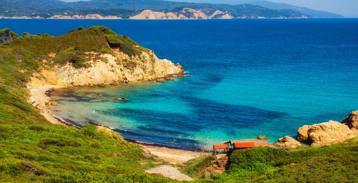 Bucht auf Skiathos