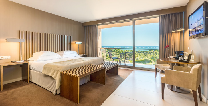 Doppelzimmer Meersicht - São Rafael Atlântico