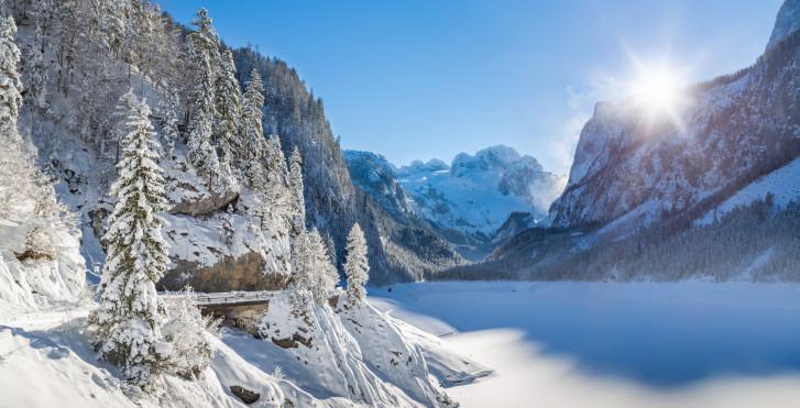 Gosausee im Winter