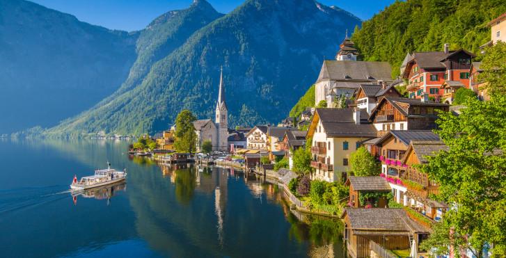 Le village Hallstatt