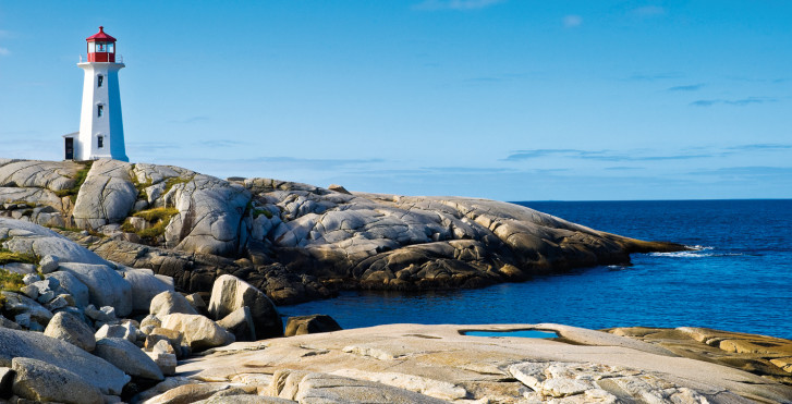 Leuchtturm, Peggy's Cove, Nova Scotia