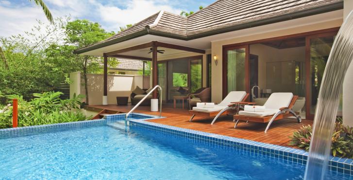 Villa Deluxe Hillside Pool - Hilton Seychelles Labriz Resort & Spa