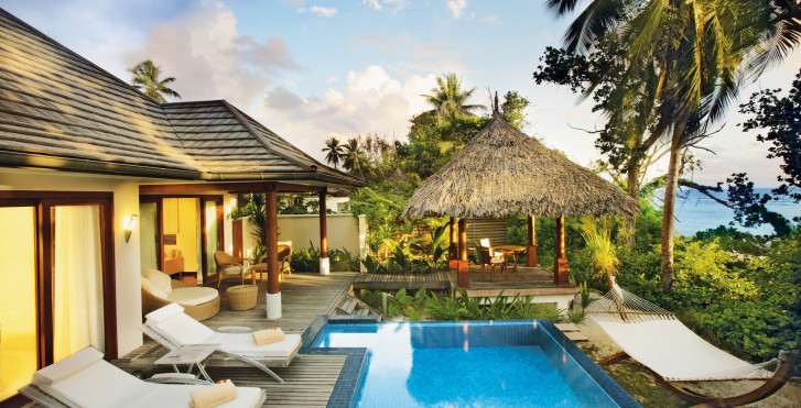 Villa Deluxe Beachfront Pool - Hilton Seychelles Labriz Resort & Spa