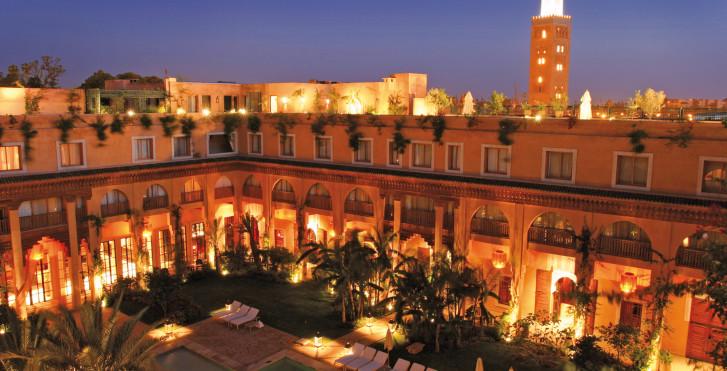 les jardins de la koutoubia marrakech vacances migros. Black Bedroom Furniture Sets. Home Design Ideas