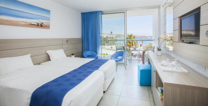 Chambre double Deluxe - Limanaki Beach Hôtel