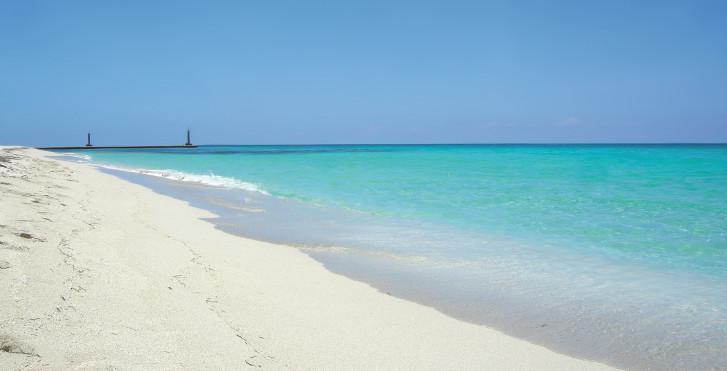 Plage sur l'île Cayo Santa Maria, Cuba