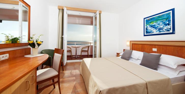 Doppelzimmer Meersicht - Bluesun Resort Afrodita
