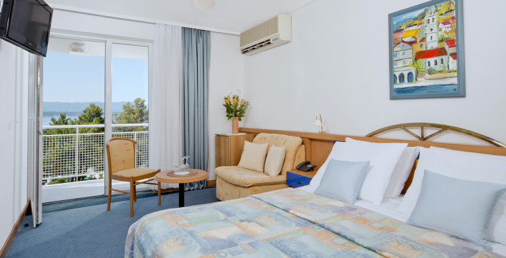 Chambre double avec balcon - Bluesun Hotel Borak