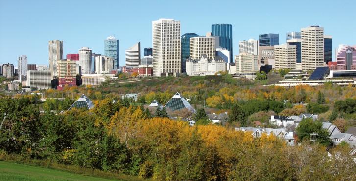Skyline, Edmonton