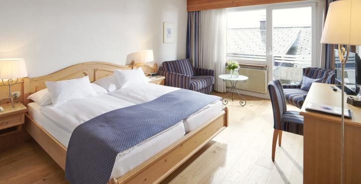 Chambre double - Hôtel Bristol - forfait été Sommerfeeling
