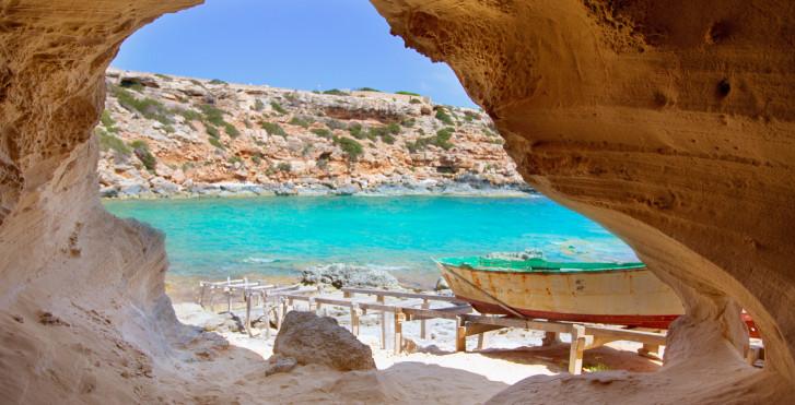 Cala en Baster, Formentera