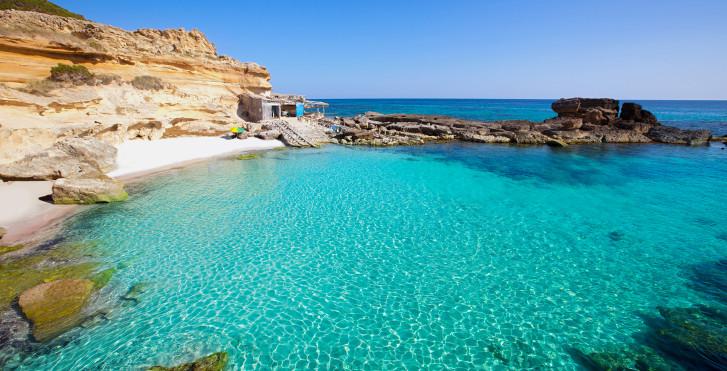 Mer turquoise, Formentera