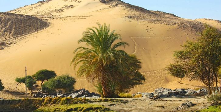 Dune de sable, Assouan