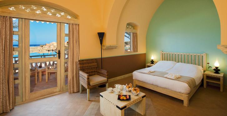 Chambre double vue mer latérale - Radisson Blu Resort El Quseir