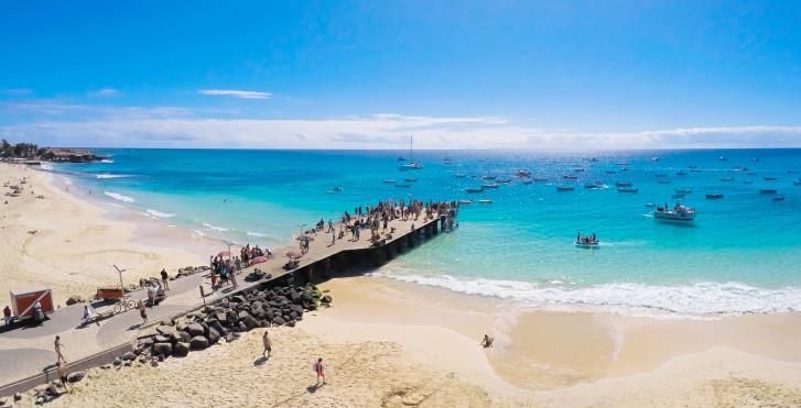 Santa Maria Beach, Sal, Kapverden