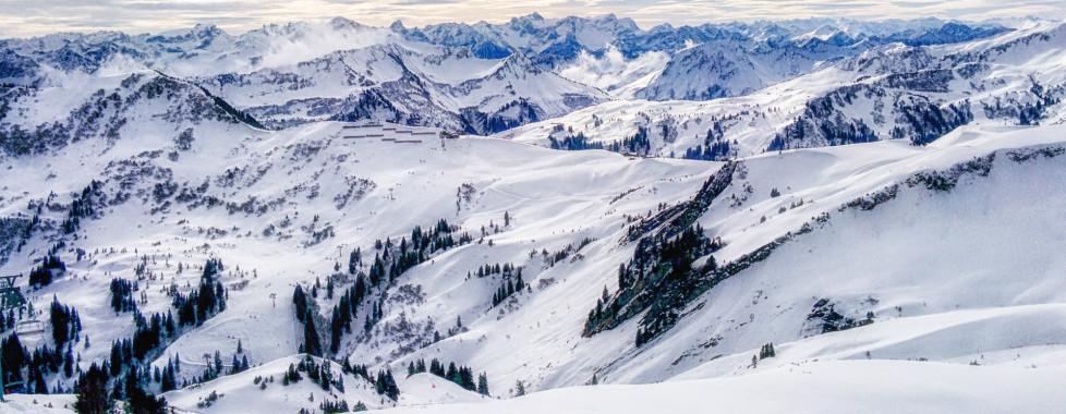 Skifahren in Damüls