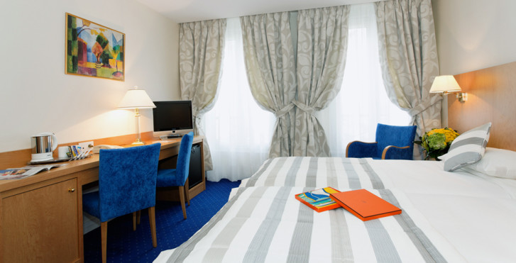 Doppelzimmer - Hotel Atlantic