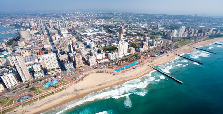 Durban von oben