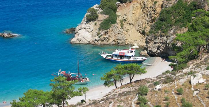 Bucht auf Karpathos