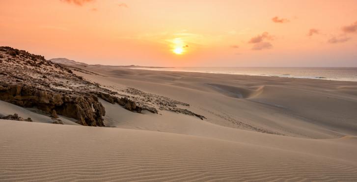 Sonnenuntergang, Boa Vista, Kapverden