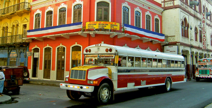 Bus in Panama City