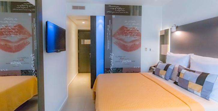 Chambre double Economy - Hôtel Valentina
