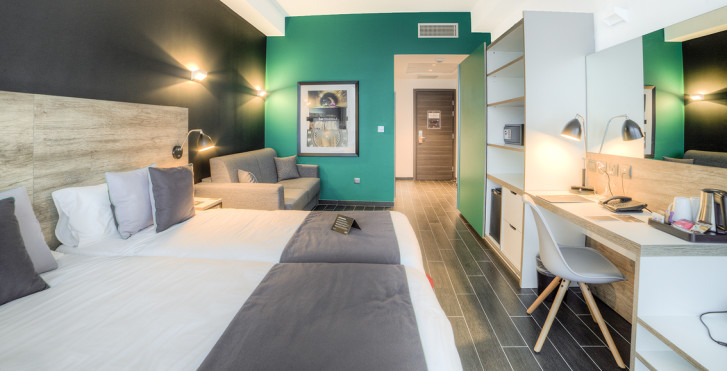 Chambre double - be.Hotel