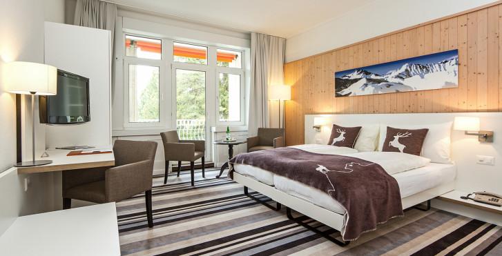 Doppelzimmer Superior - Hotel National Davos