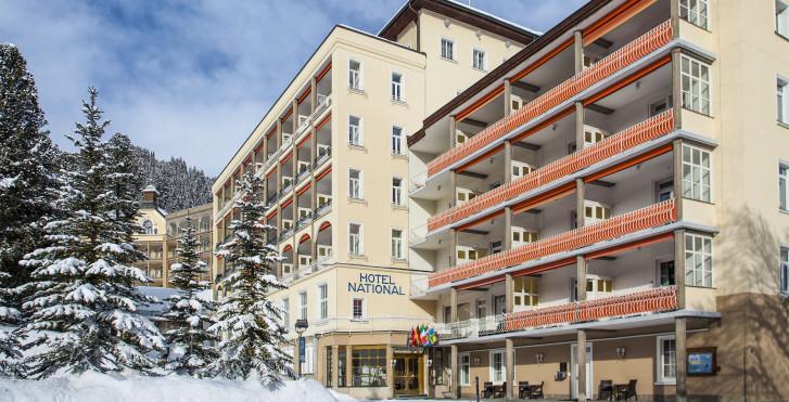Image 17010916 - Hôtel National - forfait ski
