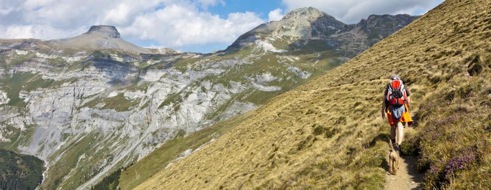 Faire de la randonnée à Brigels