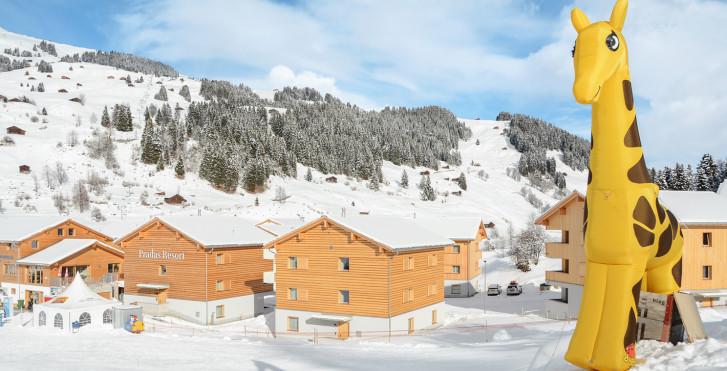 Appartements de vacances Pradas - Forfait ski