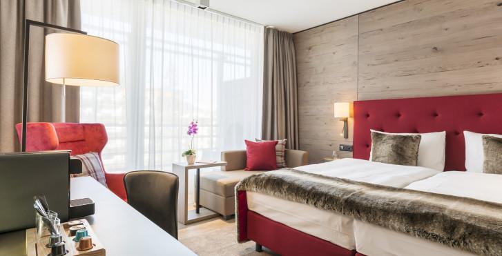 Chambre double - AMERON Davos Swiss Mountain Resort