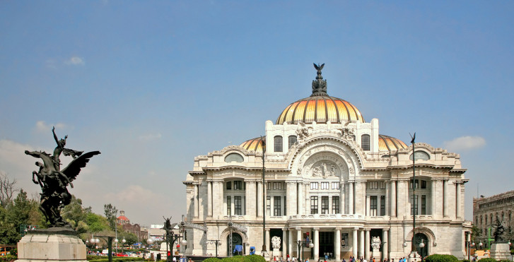 Palais des beaux-arts de Mexico, Mexico City