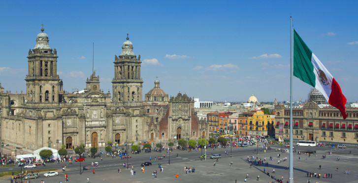 Place de la Constitution, Mexico City