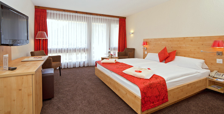 Doppelzimmer Bel-Etage Superior - Central Sporthotel - Sommer inkl. Bergbahnen