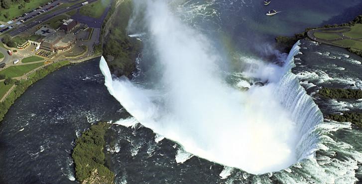 Canadian Falls von oben