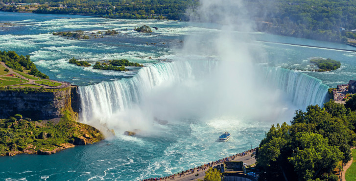 Horseshoe Falls, Niagarafälle