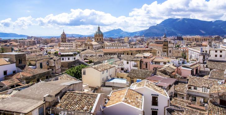 Blick über die Dächer von Palermo