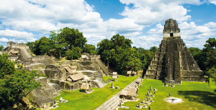 Tikal Maya Ruinen, Guatemala