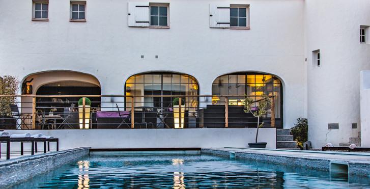 Hotel vila de la mar design hotel spa camargue migros for Design hotels la